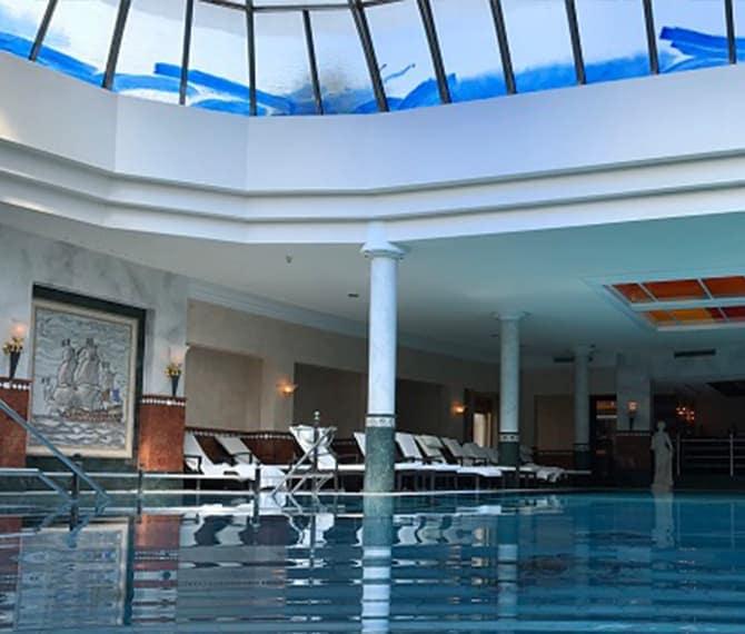 Schwimmbad Seehotel Überfahrt Tegernsee