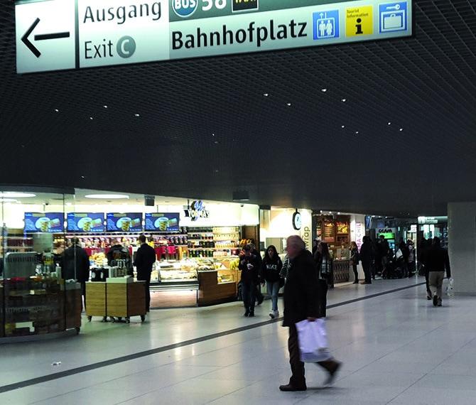 SWM Sperrengeschoss Hauptbahnhof