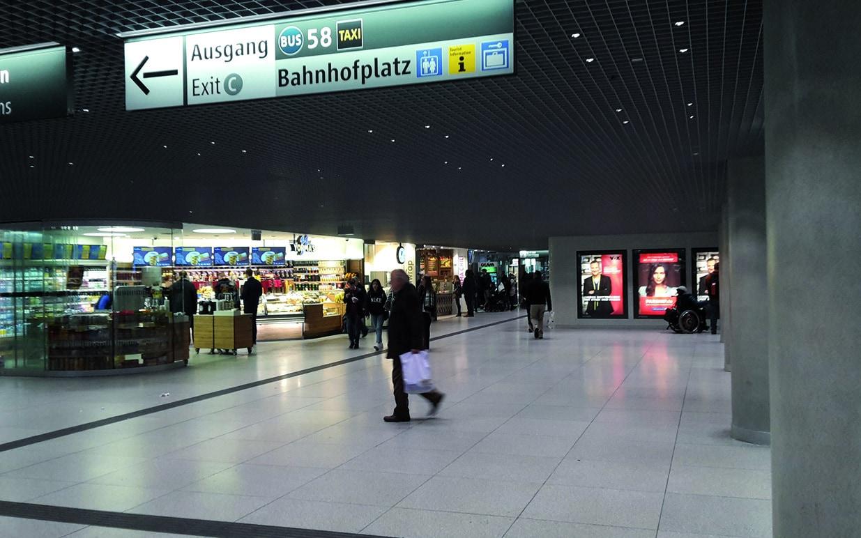 Generalsanierung des Sperrengeschosses am Hauptbahnhof München-peg