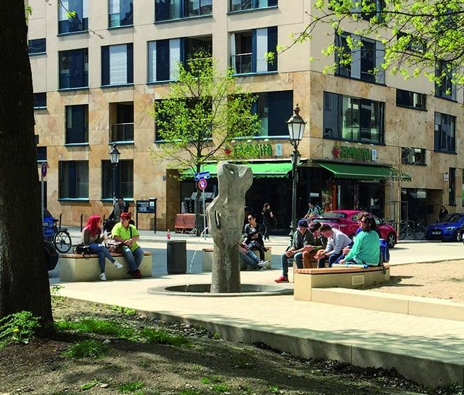 Brunnen Wedekindplatz