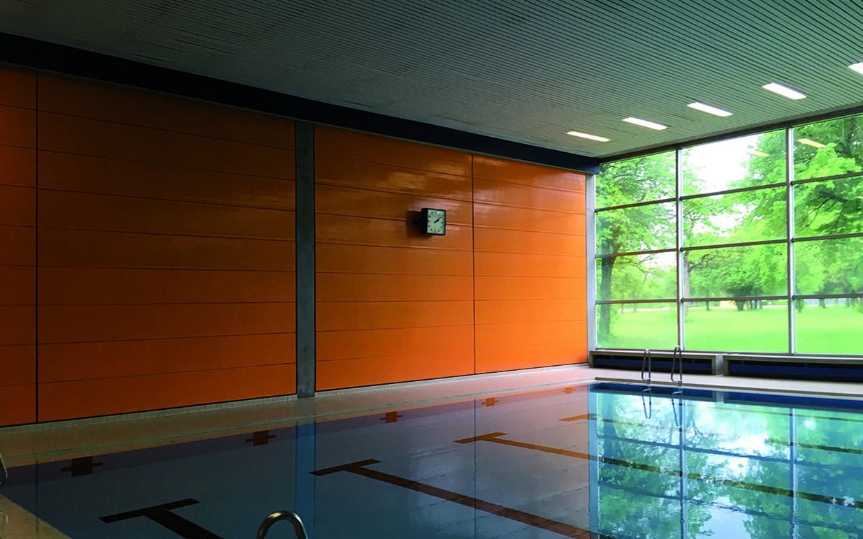 Sanierung der Schwimmhalle in der Lagerlechfeld-Kaserne-peg